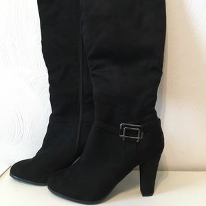 Tall black Impo flex boots